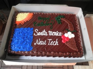 Santa Monica New Tech Cake