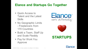 Elance Overview