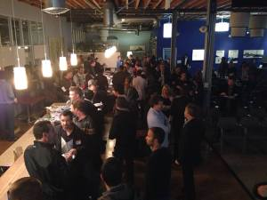 Networking at #100Startups