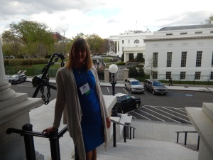 Outside Executive Building