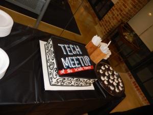 Tech Meetup Cake